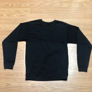 Hanes Boys Youth 2XL Black CrewNeck sweatshirt